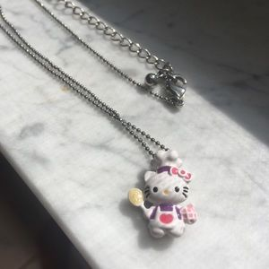 Hello Kitty Chef Pendant Necklace